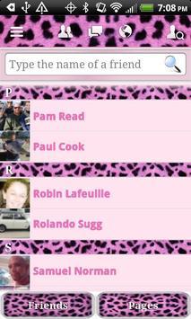 HD Pink Cheetah for Facebook screenshot 2