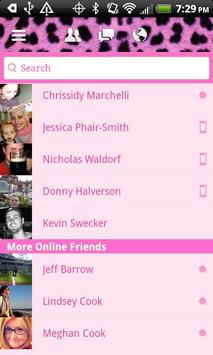 HD Pink Cheetah for Facebook screenshot 5