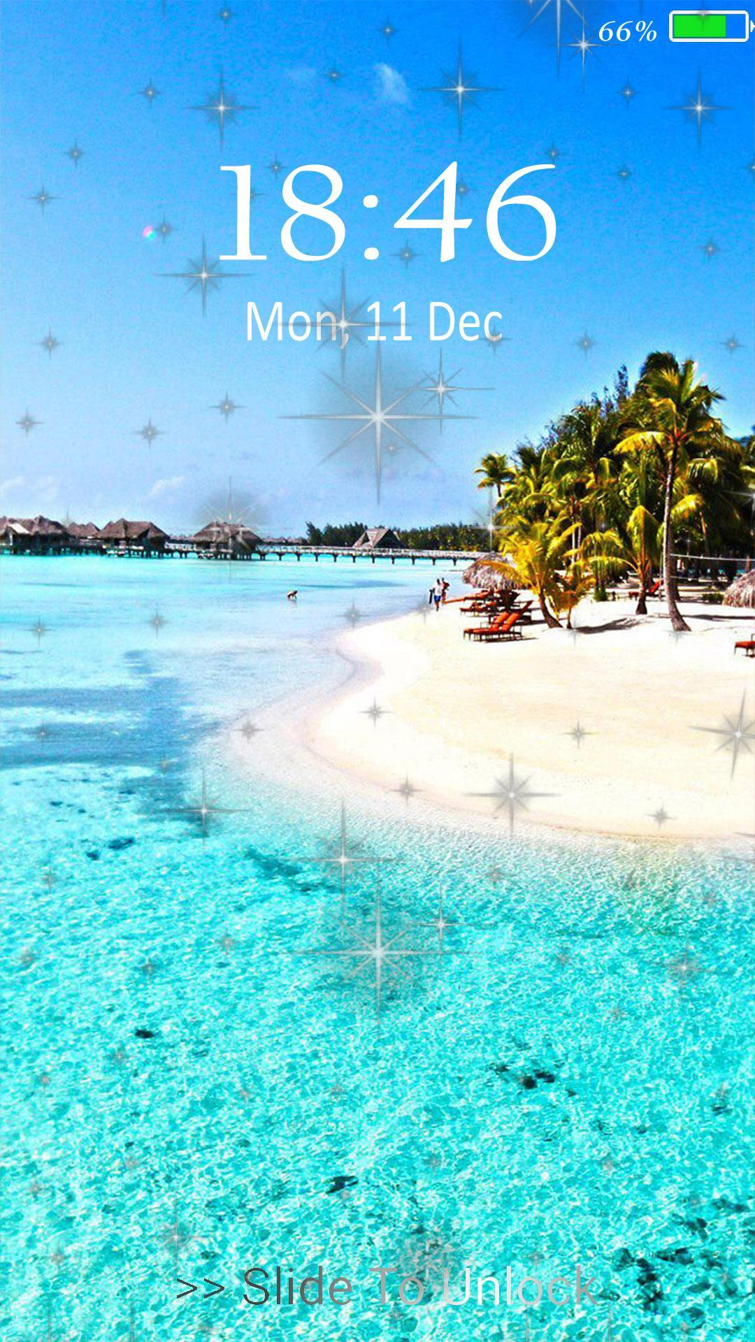 Beach Live Wallpaper Lock Screen For Android Apk Download