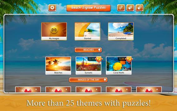 Beach Relax Jigsaw Puzzles screenshot 3