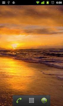 beach sunset live wallpaper apk screenshot