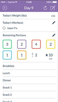 21 Day Fix® Tracker – Official poster