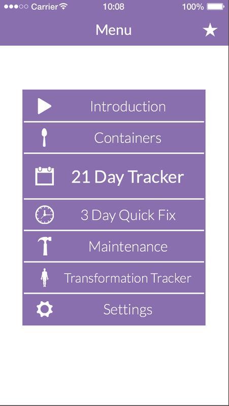 21 Day Fix Tracker Official Screenshot 2