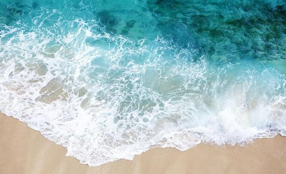 Beach Wallpapers for Chat poster