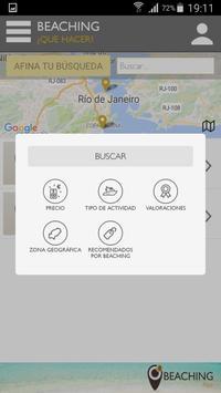 Beaching App RIO apk screenshot