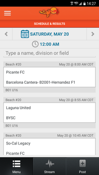 Beach Soccer USA screenshot 2
