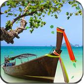 Palm Tree Beach Live Wallpaper icon