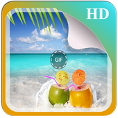 Summer GIF And Wallpapers icon