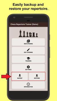 Chess Repertoire Trainer poster