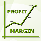 Stock Profit Margin icon