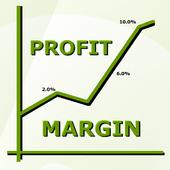Stock Profit Margin icon