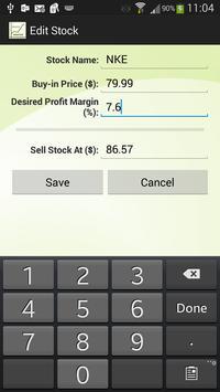 Stock Profit Margin screenshot 4