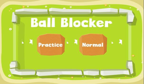 Ball Blocker poster