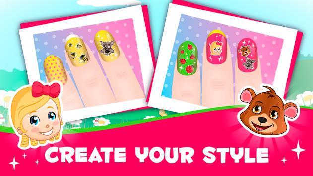 Blondie gold manicure screenshot 1