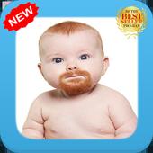 Funny Baby Beard icon