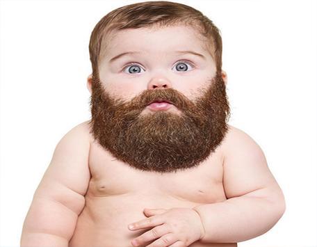 Funny Baby Beard screenshot 1