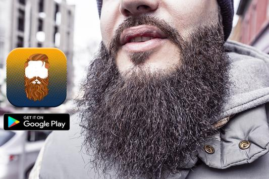 Beard photo montage Camera apk screenshot