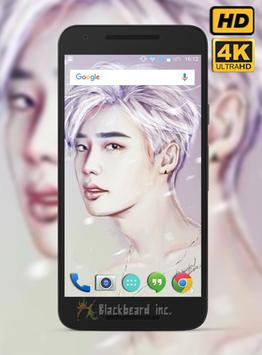 Lee Jong Suk Fans Wallpaper HD poster