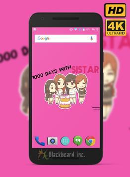 Sistar Fans Wallpaper HD screenshot 2