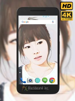 Taeyeon Fans Wallpaper HD screenshot 1