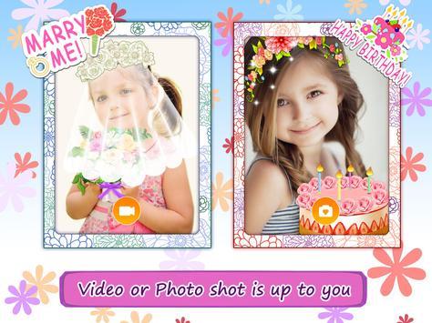 Flower Selfie Cam - pics, camera & special lenses screenshot 4