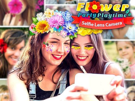 Flower Selfie Cam - pics, camera & special lenses screenshot 5