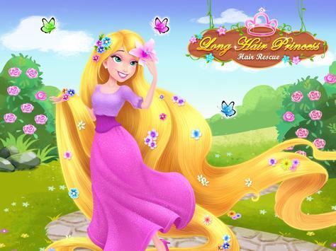 Long Hair Princess - Prince Rescue apk screenshot