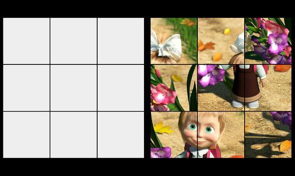 Bear the Masha Super Puzzles screenshot 1