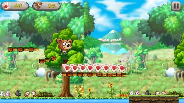 Bear Vs Crocodile Run apk screenshot
