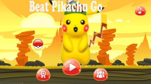 Beat Pikachu Go poster