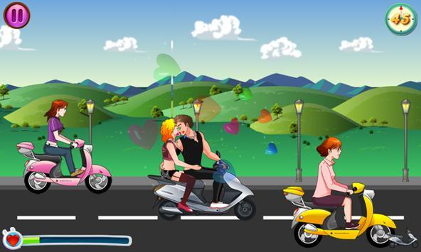 Kiss Racer apk screenshot
