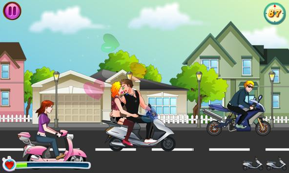 Kiss Racer screenshot 1
