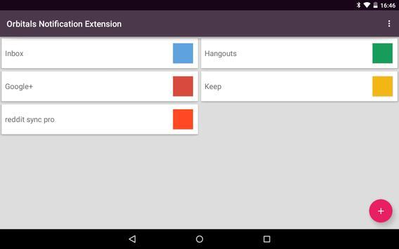Orbitals Notify Extension apk screenshot
