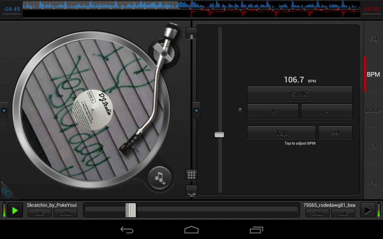 The description of DJ Studio 5 - Free music mixer