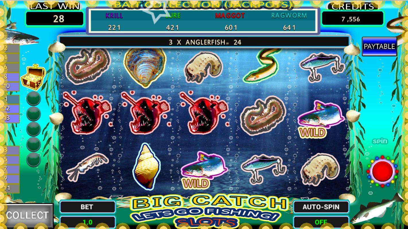 Big catch fishing apk download free casino game for for Fishing bob slot machine