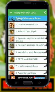 Resep Masakan Jawa Lengkap apk screenshot