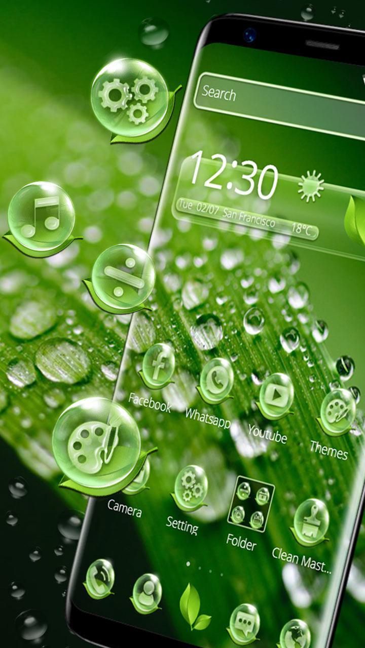 Beautiful Dew Drop Theme Pour Android Téléchargez L APK