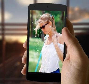 Beautiful Girls LockScreen apk screenshot