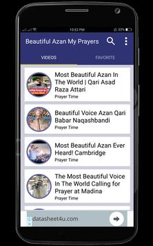 Beautiful Azan  My Prayers screenshot 7