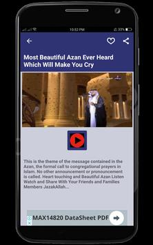 Beautiful Azan  My Prayers screenshot 8