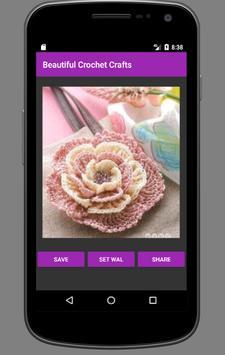 Beautiful Crochet Crafts apk screenshot