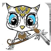 Cute Animal Coloring Books icon