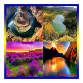 beautiful landscapes icon