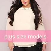 beautiful plus size models photos icon
