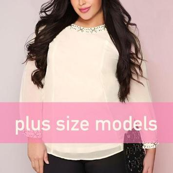 beautiful plus size models photos poster