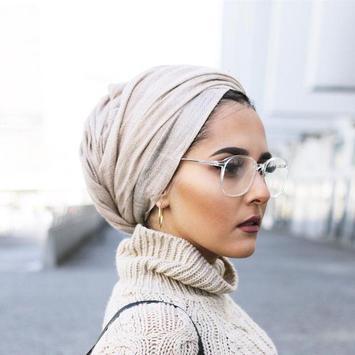 Beautiful Turban Hijab Ideas poster