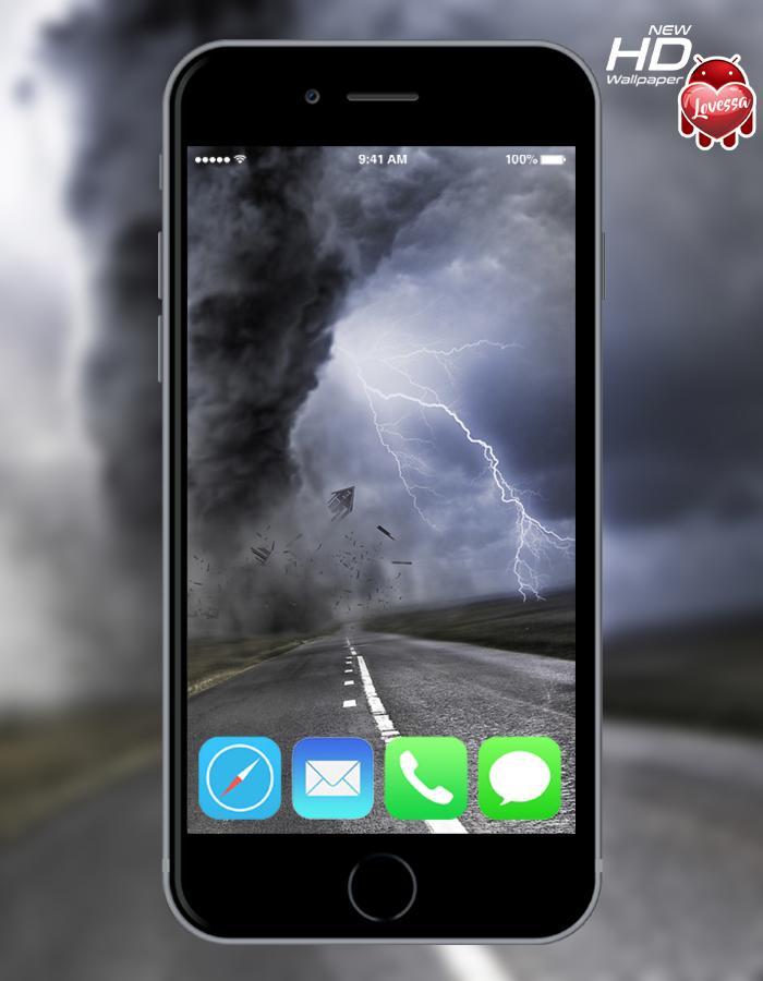 Tornado Lovessa Wallpaper poster