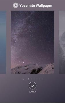 YosemiteWallpaper screenshot 1
