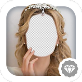 Bridal Tiara Photo Montage icon