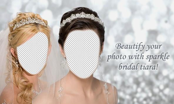 Bridal Tiara Photo Montage poster